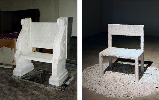 2 / 2. Marble Chair